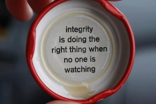 Inspirational Picture Quotes integrity is when