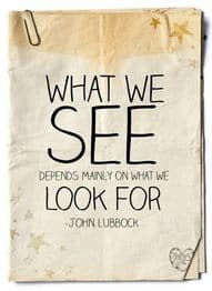 Inspirational Picture Quotes what we see