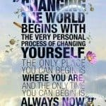 Begin With Yourself