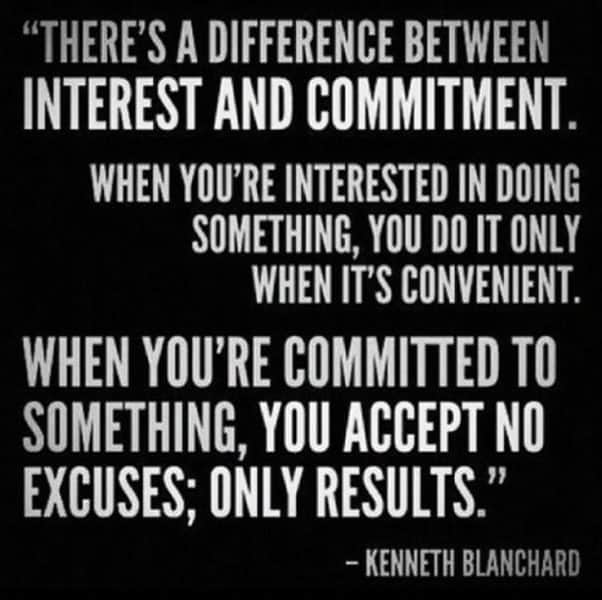 Commitment Quotes