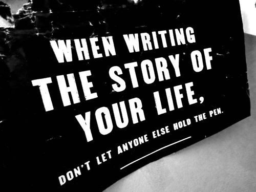 inspirational picture quotes write your story and motivational images