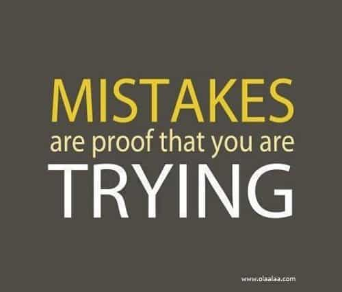 Inspirational Picture Quotes About Mistakes