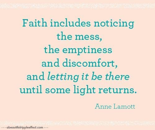 Anne Lamott facebook status