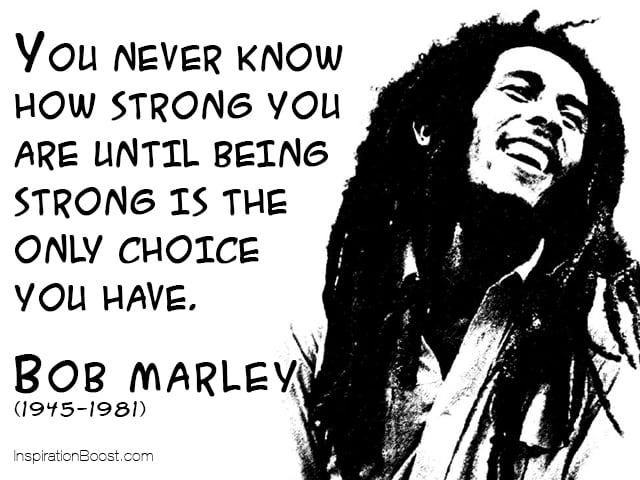 Bob Marley Quotes about Love and Life