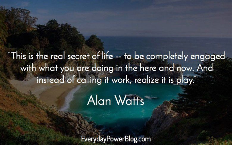 "Quotes On Life Awesome Alan Watts Quote ""You Are The Universe Experiencing Itself.""  Alan ."
