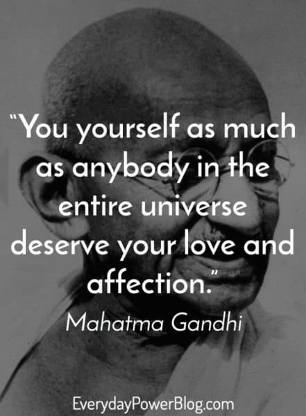Mahatma Gandhi Quotes On Love Mesmerizing 33 Mahatma Gandhi Quotes That Changed History