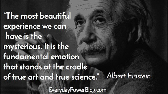Inspirational Albert Einstein Quotes About Love