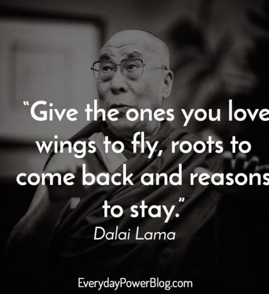 dalai lama quote about love