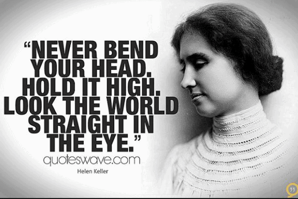 12 Helen Keller Quotes To Recognize Your Power!