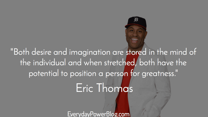 Eric Thomas Quotes Cool 23 Eric Thomas Quotes About Success Life Beast Mode And Your Why