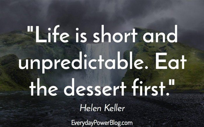 helen keller quotes about life