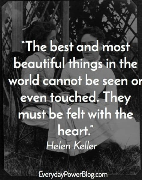 helen keller quotes about vision