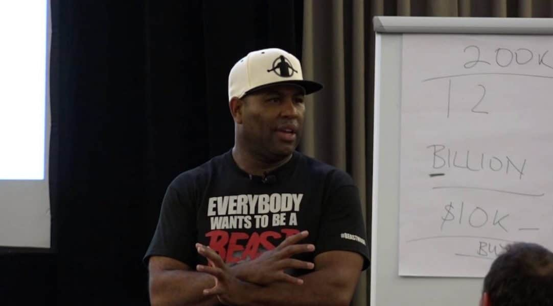 motivational eric thomas quotes aboout going all in and beast mode