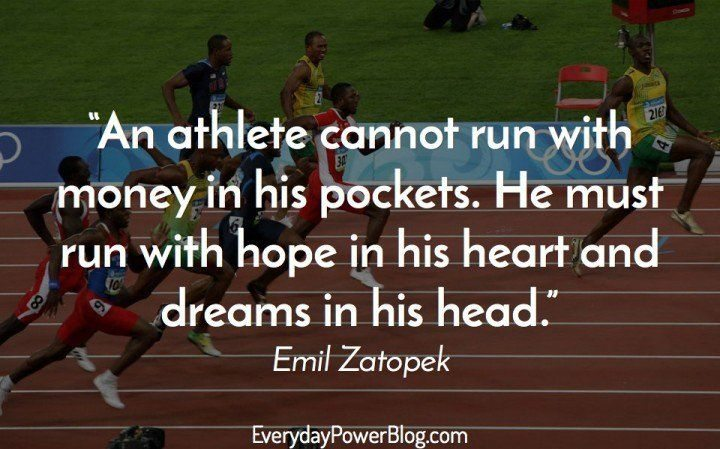 Inspirational Athletic Quotes | 80 Best Sports Quotes For Athletes About Greatness 2019