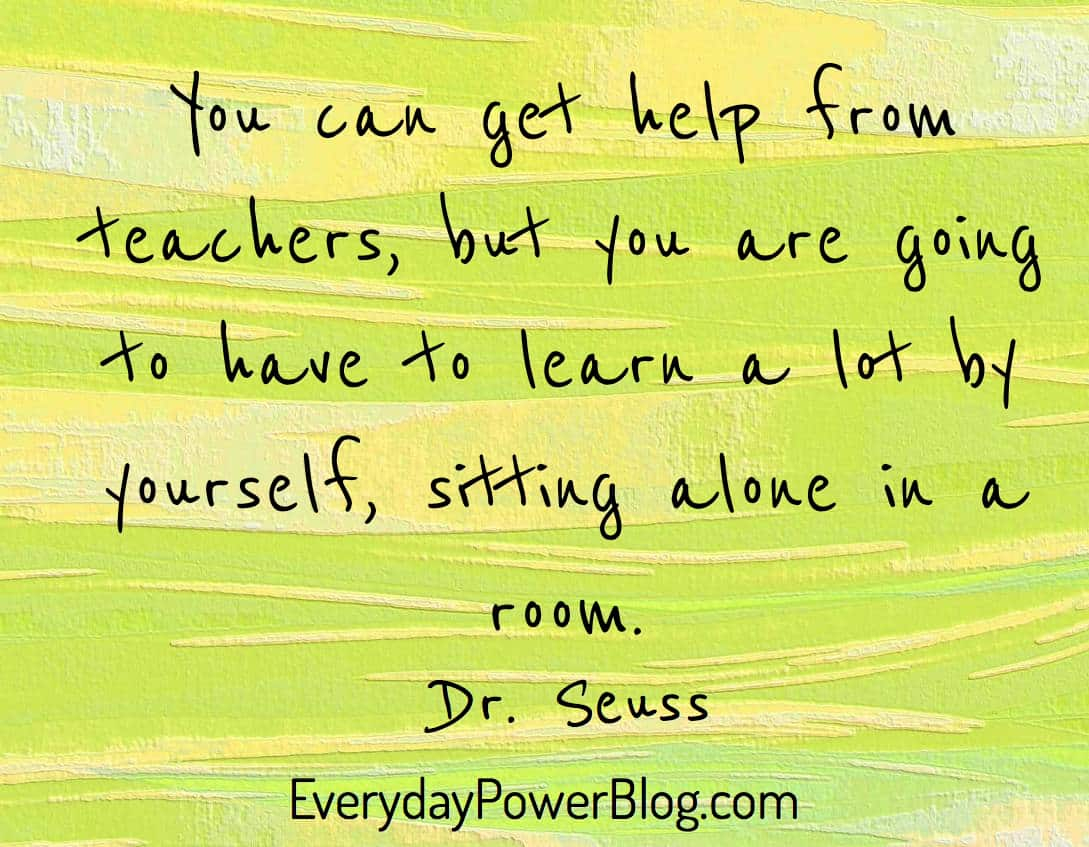 Quotes For Kids About Life Inspirational Drseuss Quotes On Love Life And Learning