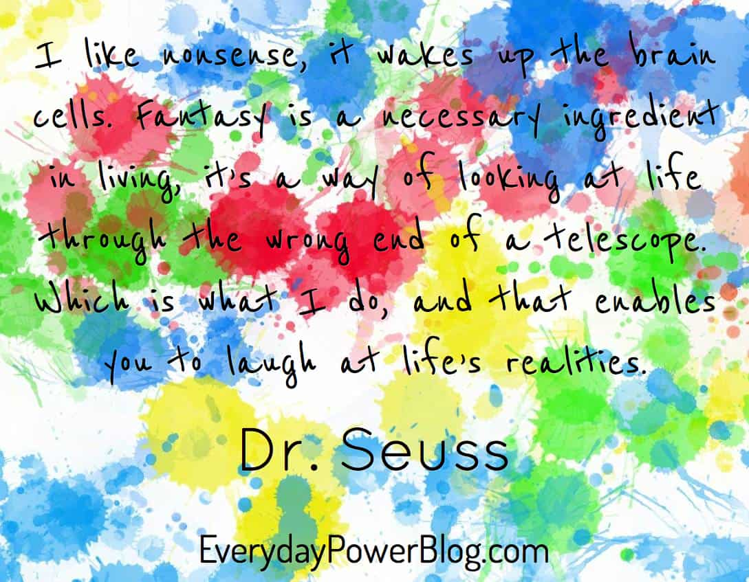 Dr. Seuss Quotes about success