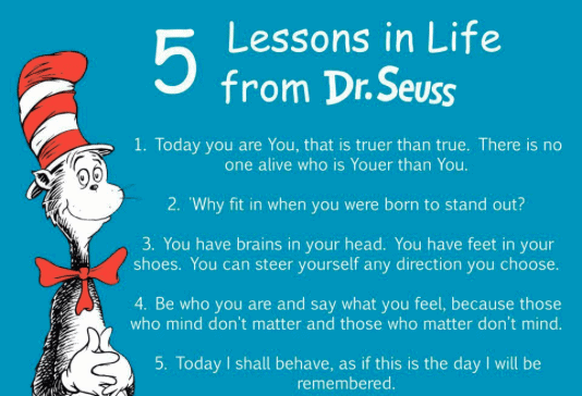 Dr. Seuss Quotes about creativity