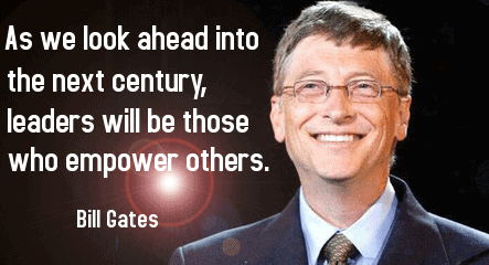 Inspiring Bill Gates Quotes
