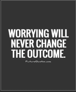 Words of Inspiration #4 - Stoping Wasting With Worry 4