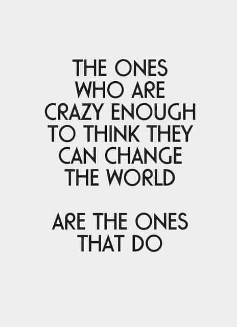 quotes about changing the world