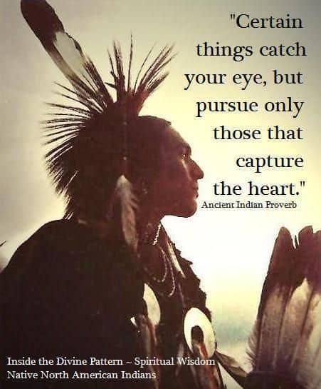 Native North American Indian man
