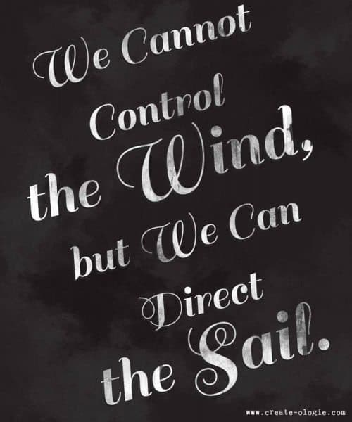 Inspiring Picture Quotes control the sail