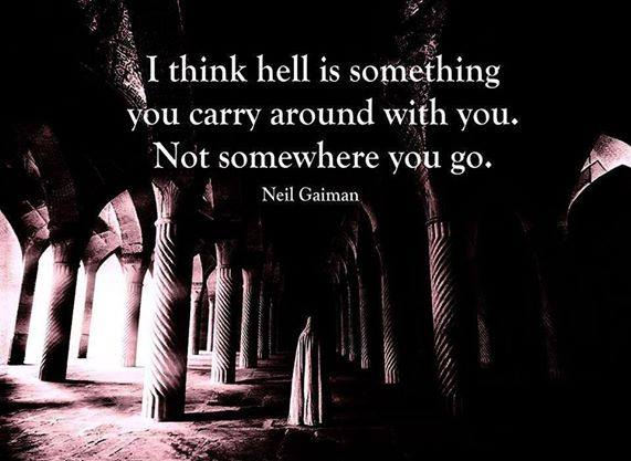 Inspiring Picture Quotes i think hell is