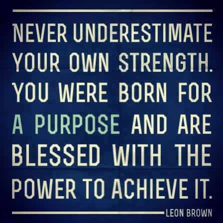 Inspiring Picture Quotes power to achieve