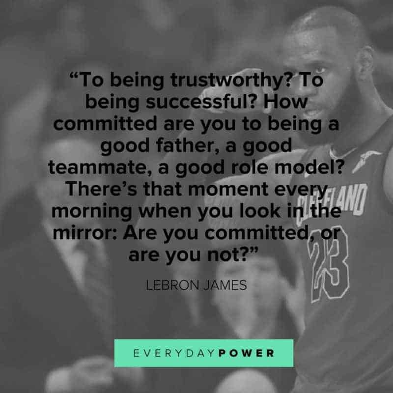 inspirational Lebron James Quotes about family