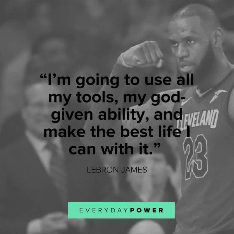 Lebron James Quotes about success
