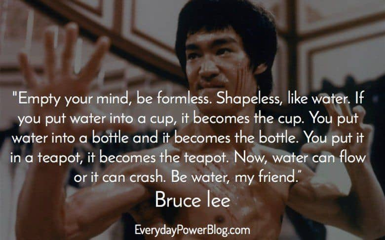 Bruce Lee Quote | 70 Bruce Lee Quotes About Life And Greatness 2019