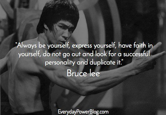 Populaire 34 Bruce Lee Quotes To Inspire The Warrior Within! GF25