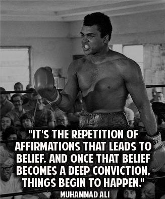 Muhammad Ali quotes about success