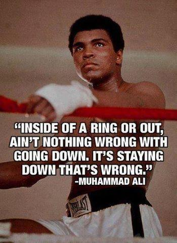 Muhammad Ali quotes about boxing