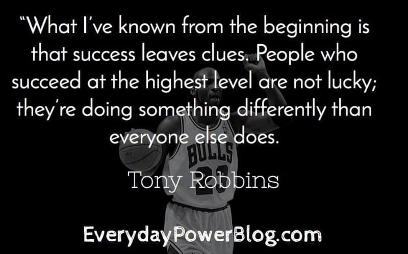 27 Tony Robbins Quotes On Modeling Success Everyday Power