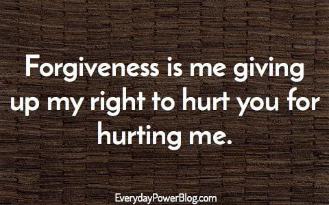 Anonymous Forgiveness Quotes About Live, Love And Friendship That Will  Inspire You