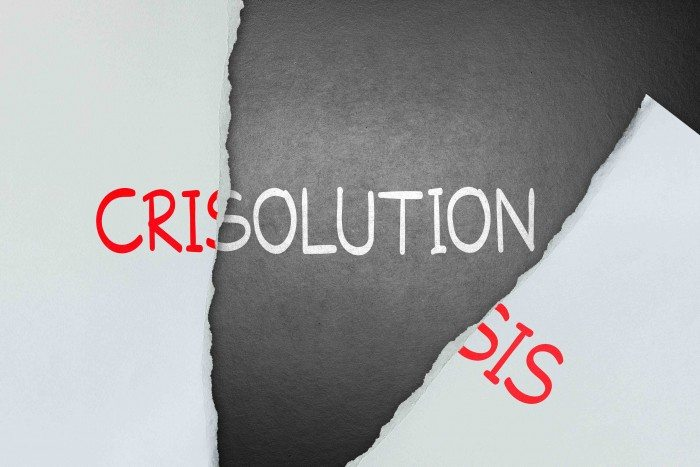 Find solution for crisis