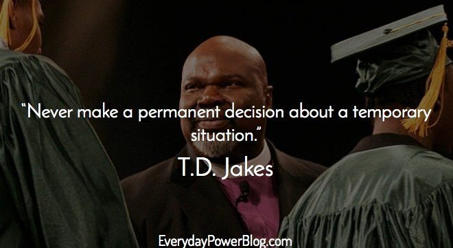 Good Amazing Td Jakes Quotes