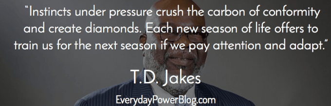 Marvelous Td Jakes Quotes