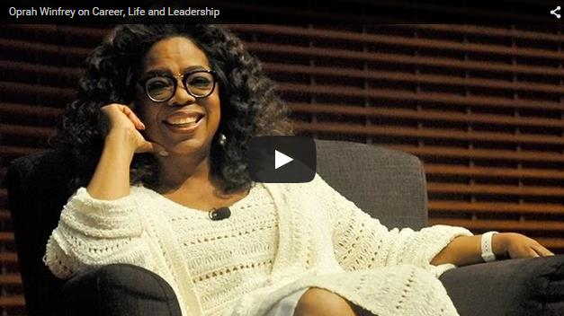 Oprah Winfrey on Career, Life and Leadership | Motivational Blog