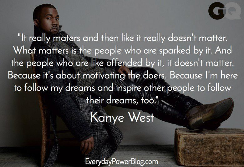 kanye west quotes about life