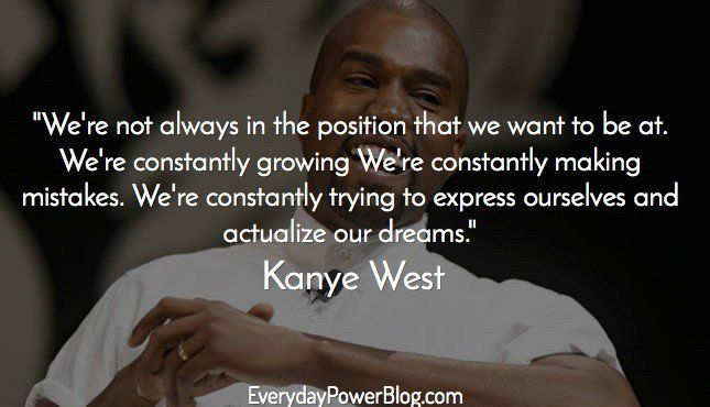 kanye west quotes about life and family with kim k