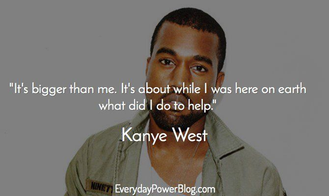 kanye west quotes about success