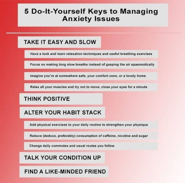5 Do-It-Yourself Keys to Managing Anxiety Issues 3