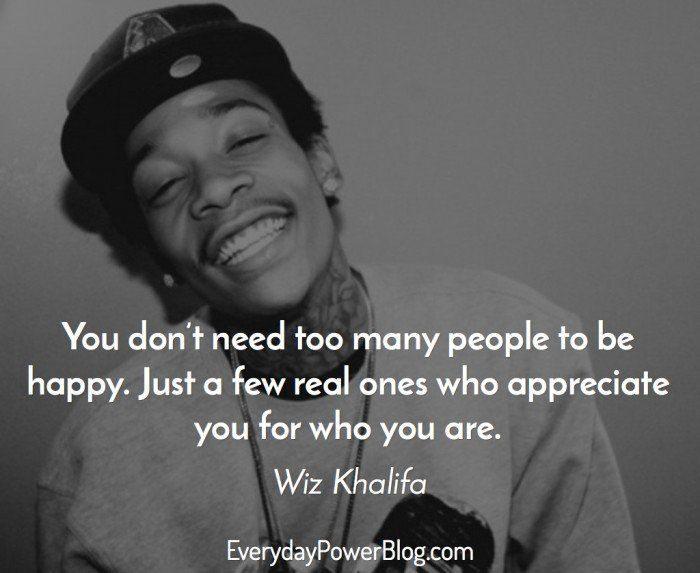 Wiz Khalifa quotes on life