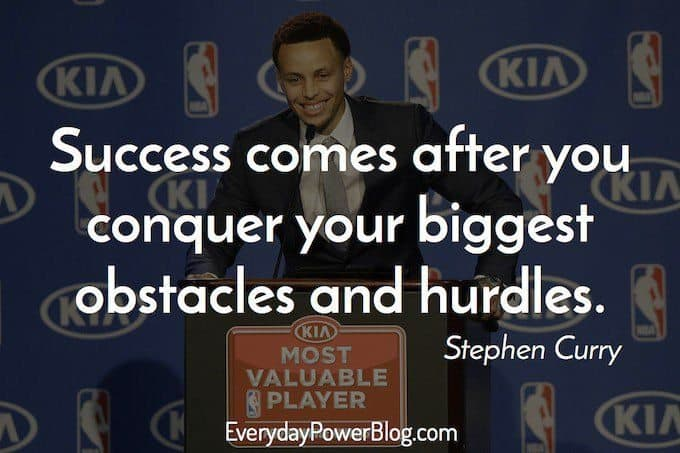 stephen curry quotes about success