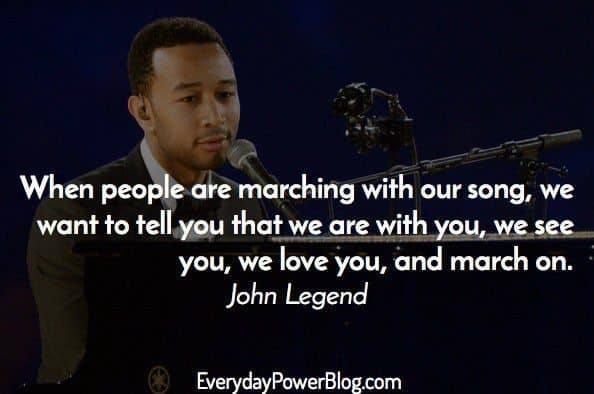 35 Inspirational John Legend Quotes About Being All Of Me ...