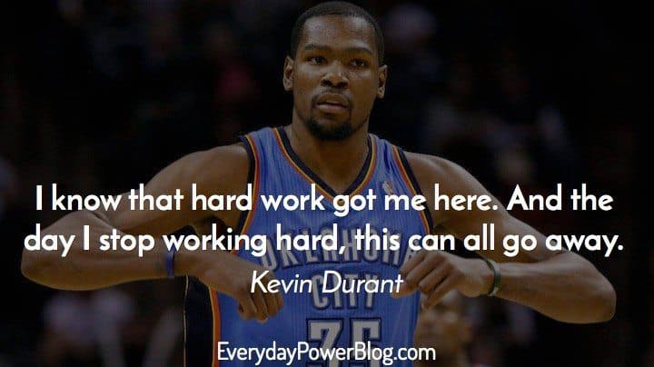 Kevin Durant Quote Custom 25 Best Kevin Durant Quotes On Basketball Family And Faith