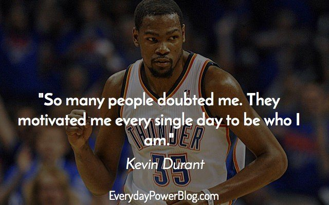 Kevin Durant Quote Delectable 25 Best Kevin Durant Quotes On Basketball Family And Faith