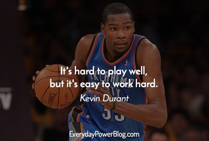 Kevin Durant Quote Fascinating 25 Best Kevin Durant Quotes On Basketball Family And Faith